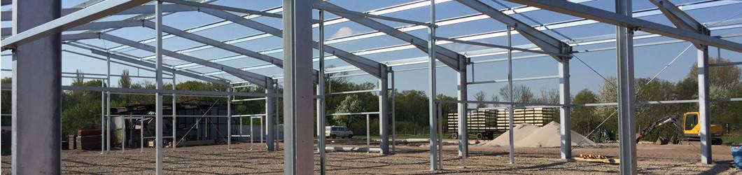 Neubau von zwei landwirtschaftlichen Lagerhallen | Geinsheim