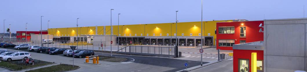 Neubau DHL Express Flughafen   Stuttgart