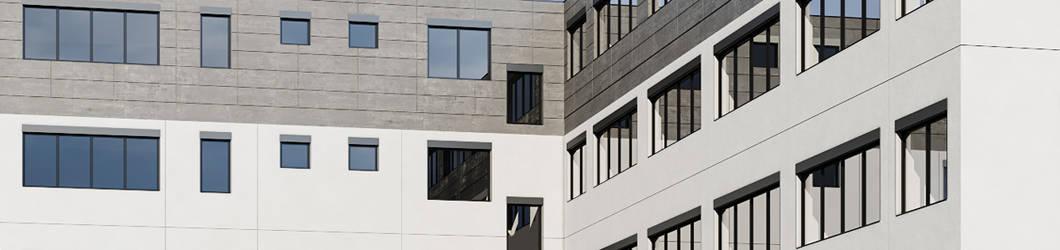 Neubau einer Halle mit Büro für DJO | Freiburg