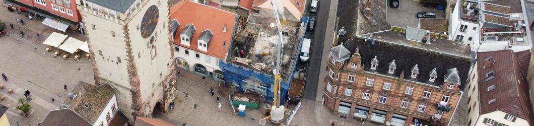 Umbau eines Wohn- u. Geschäftshauses am Postplatz | Speyer