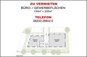 Neubau von Büro-/ Gewerbeflächen | EG ZU VERMIETEN