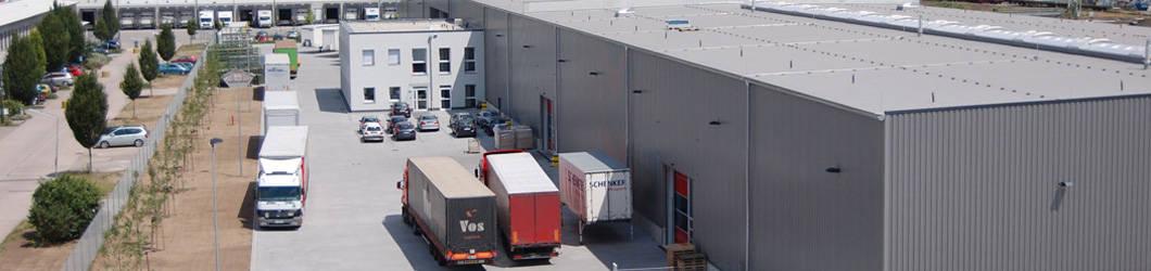 Neubau eines Schenker Logistikzentrums | Mannheim