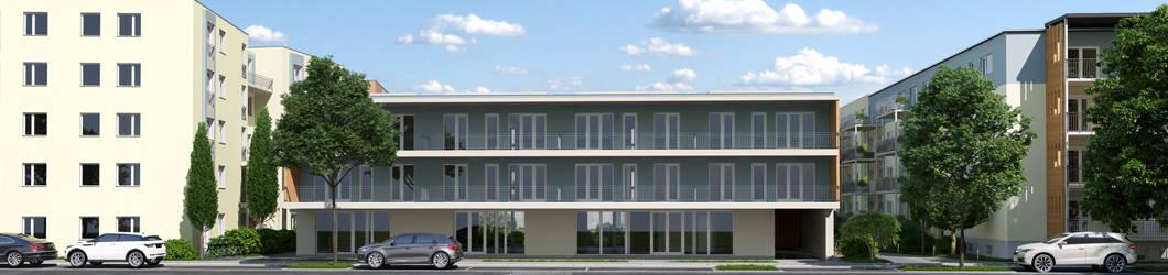 Sanierung und Neubau von 3 Mehrfamilienhäusern mit 50 WE | Mark Twain Village Heidelberg